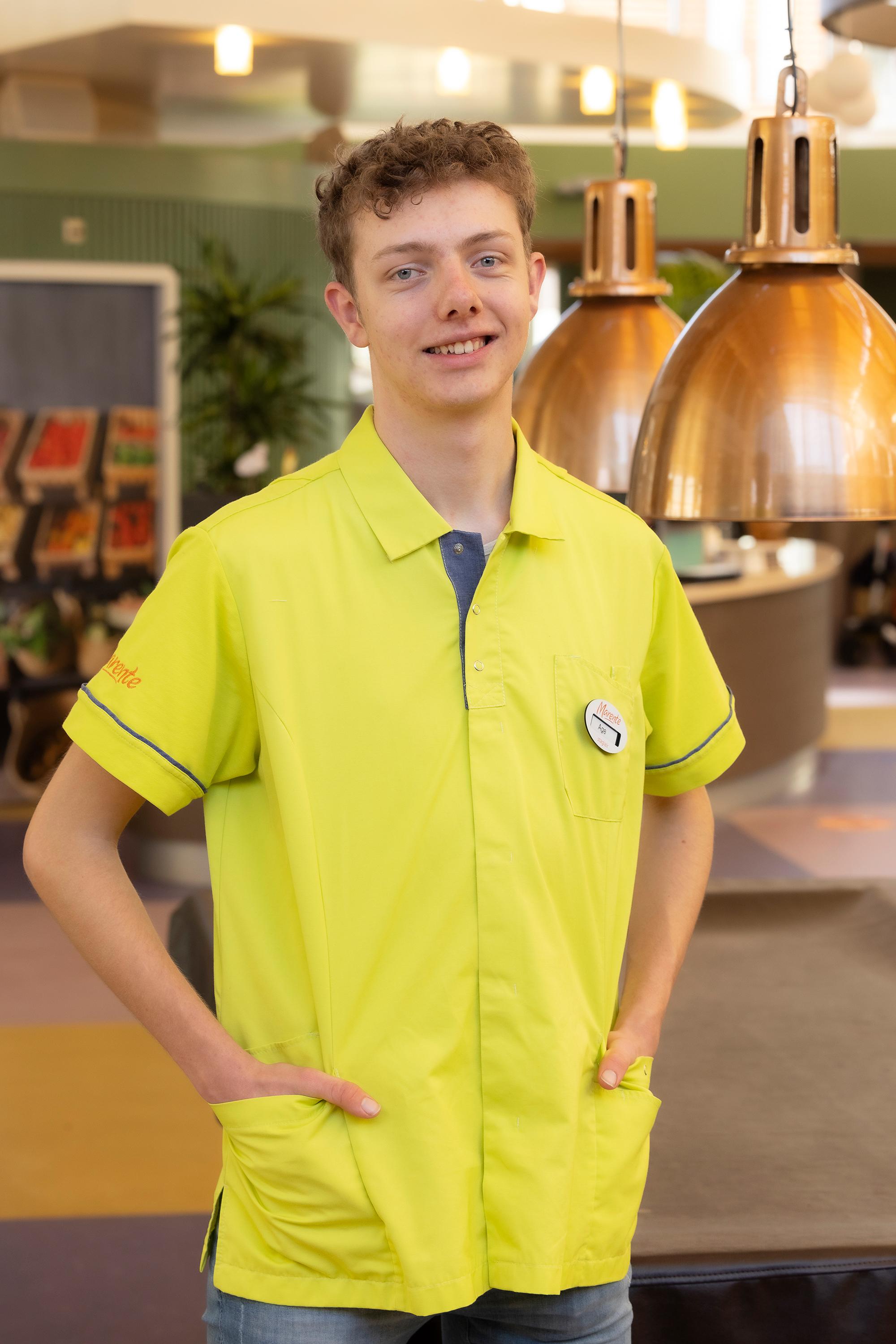 Age - hbo-verpleegkunde student Bernardus Sassenheim - Marente