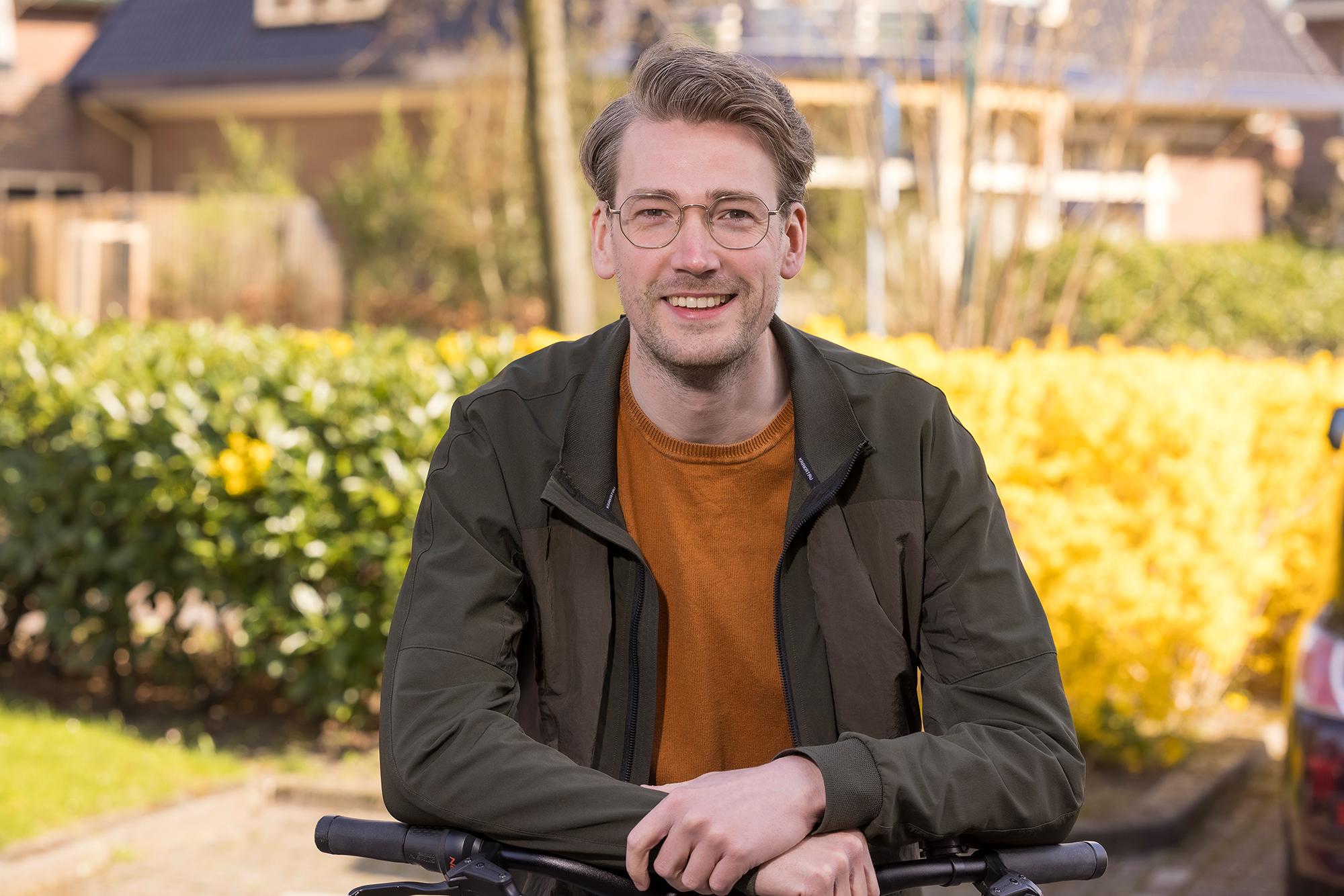 Sebastiaan - regiomanager thuiszorg Marente